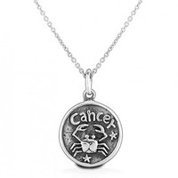 Bling Jewelry Cancer Crab Pendant