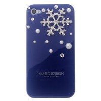 Crystal Winter Snowflake iPhone 4 Case Cover