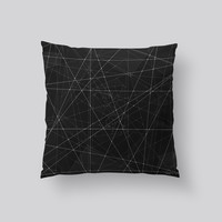 Throw Pillows for Couches / Constellations by Morgan Ralston