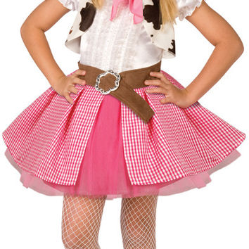 girl's costume: cowgirl cutie