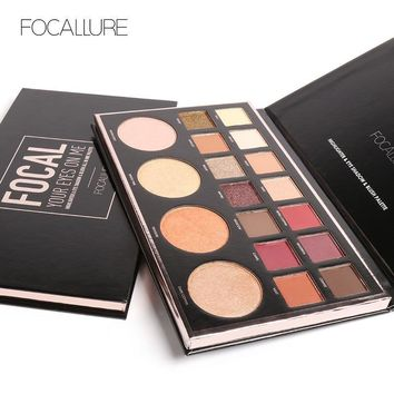 Focallure 18-color Multi-function Eye Shadow [72662188047]