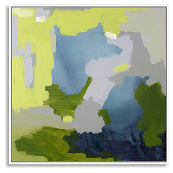 Linda Colletta, Petite Chartreuse II, Acrylic / Lucite, Paintings