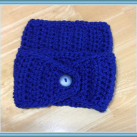 Marked Down, Women's Ear Warmer, Crocheted Headband, Warm Headband, Gift for her, Handmade Earwarmers