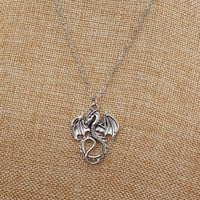Fashion New 2016 Exo Collares Bijoux Love Vintage Monster Dragon Pendant Necklace For Women Jewelry Choker Girl One Direction