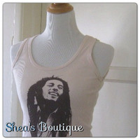 Vintage Bob Marley Tank Top by SheaBoutique on Etsy