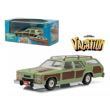 "1979 Family Truckster Wagon Queen \National Lampoon\'s Vacation"" (1983) Movie 1/43 Diecast Model Car by Greenlight"""