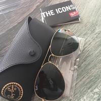 Cheap Ray Ban Classic Aviator Sunglasses Brand New With Case RB3025 outlet