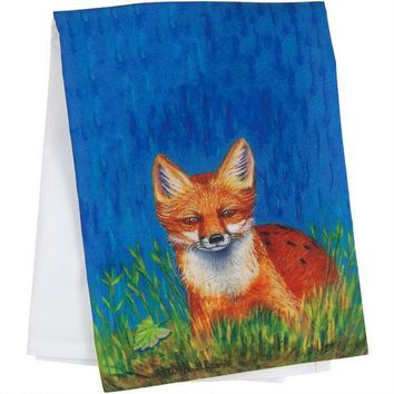 CREYCY8 Red Fox Guest Towel