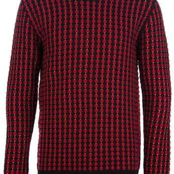 Mcq By Alexander Mcqueen Cross Knit Sweater