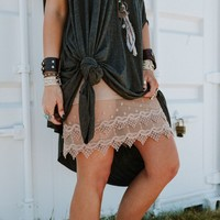 Layering Love Lace Slips - Mocha