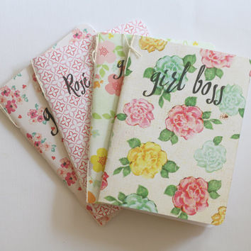 Little Notebooks - Choose From 4 Phrases