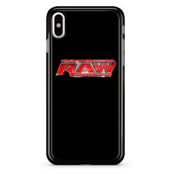 Wwe Raw Logo 2 iPhone X Case