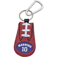 New York Giants Eli Manning Classic Football Keychain