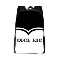 Black And White Elegant Cool Kid Bag