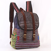Blue/ Indigo Backpack, Travel Backpack, School Bag, Native, Tribal Unisex Rucksack