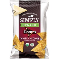 Doritos® Simply Organic White Cheddar Tortilla Chips 7.5 oz. Bag - Walmart.com