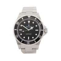 ROLEX SUBMARINER NON DATE STAINLESS STEEL WATCH 14060M W4753