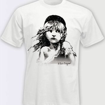 Les Miserables the Broadway Musical - Cosette White T-Shirt
