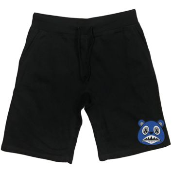 Royal Baws PATCH Black French Terry Shorts