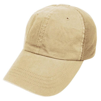 Mesh Tactical Team Cap Color- Tan