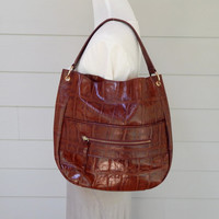 Vintage Kate Landry Faux Leather Large Purse, Tote
