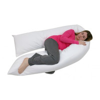 Junior Size- Total Body Pregnancy/ Maternity Pillow- Full Support- 1 Year Warranty- Exclusively By Blowout Bedding