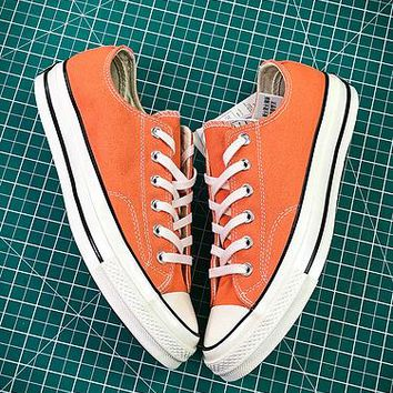 Converse 1970s 155746c Orange Canvas Shoes - Best Online Sale