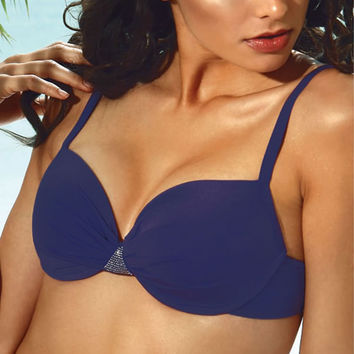Diamond Shine Underwire D Cup Top - Final Sale