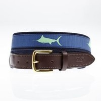 Boys Marlin Tonal Canvas Club Belt