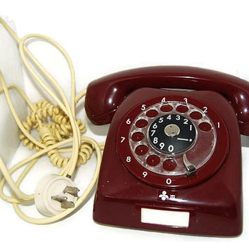 70's LM telephone, Made in Sweden by Ericsson