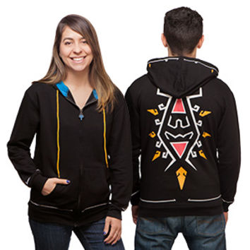 Breath of the Wild Zip Up Hoodie