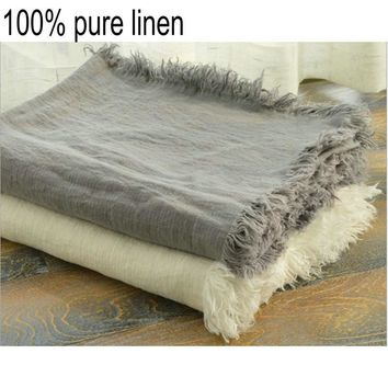 French Linen Blanket/Throw