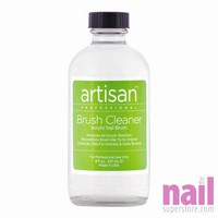 Artisan Nail Brush Cleaner | Quickly Removes Acrylic, Gel Residue & Build Up - 8 oz (236.59 ml)