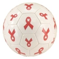PINK RIBBON SOCCER BALL FOR A CURE
