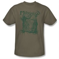 The Hobbit: The Desolation of Smaug Mirkwood Adult Safari Green T-Shirt |