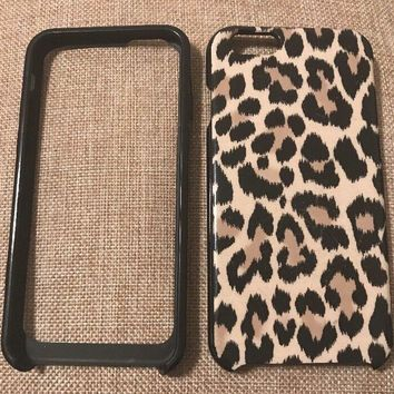kate spade new york Hybrid Hard Shell Case for iPhone 6, Leopard