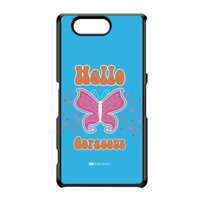 Sassy - Hello Gorgeous 10433 Black Hard Plastic Case for Sony Xperia Z3 Mini by Sassy Slang
