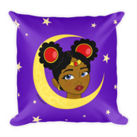 """Little Sailor"" Sailor Moon Inspired Throw Pillow"