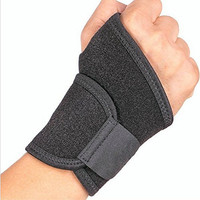 Luniquz Breathable Wrist Wraps/Belt/Band-Men and Women-for Fitness,Basketball,Soccer,Badminton, Tennis,Baseball,Volleyball and other sports - Black