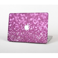 The Pink Unfocused Glimmer Skin for the Apple MacBook Air 13""
