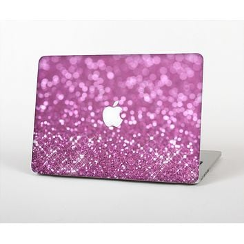 The Pink Unfocused Glimmer Skin Set for the Apple MacBook Air 13""