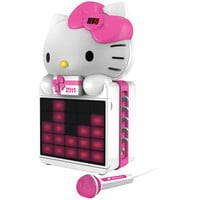Hello Kitty Karaoke System With Led Light Show