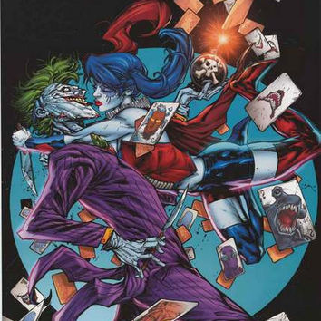 Harley Quinn and The Joker DC Comics Poster 22x34