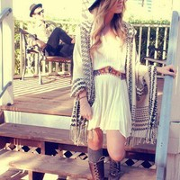 Ethnic Embroidered Waist Dress style pic on Free People