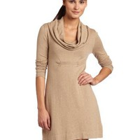 Kensie Women`s Soft Cotton Blend Sweater Dress $60.94