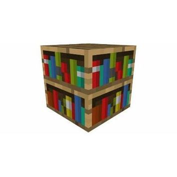 Minecraft Bookshelf Papercraft