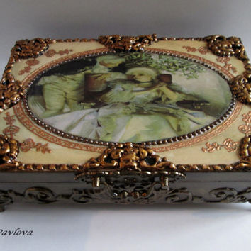 Baroque Wedding Card Box Marie Antoinette Wedding Money Box Ornate Card Holder.Money Holder Box Wishes Box Large Mirror Baroque Wedding Gift