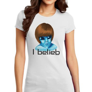 Extraterrestial - I Belieb Juniors T-Shirt by TooLoud