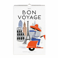 2017 Bon Voyage Calendar by Rifle Paper Co.