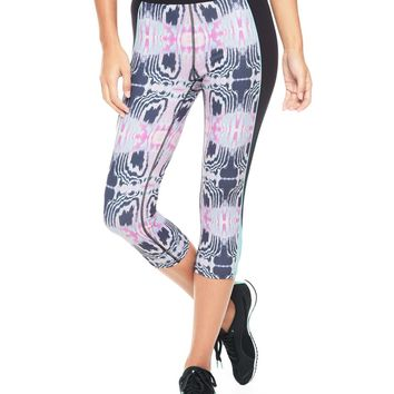 Inkblot Butterfly Crop Legging by Juicy Couture